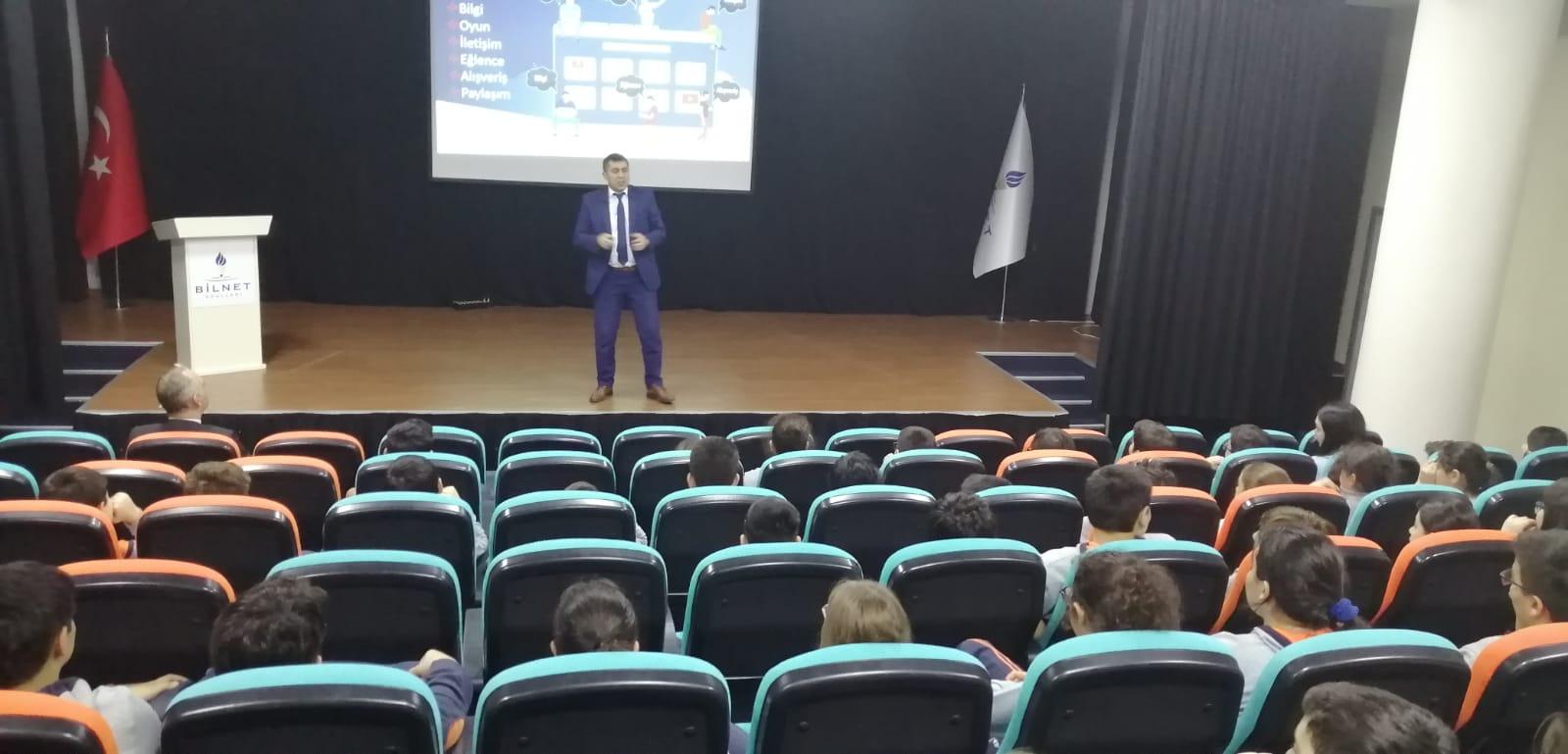 Ankara Çankaya - Çayyolu Bilnet Okullarında, Bilinçli ve Güvenli İnternet Semineri