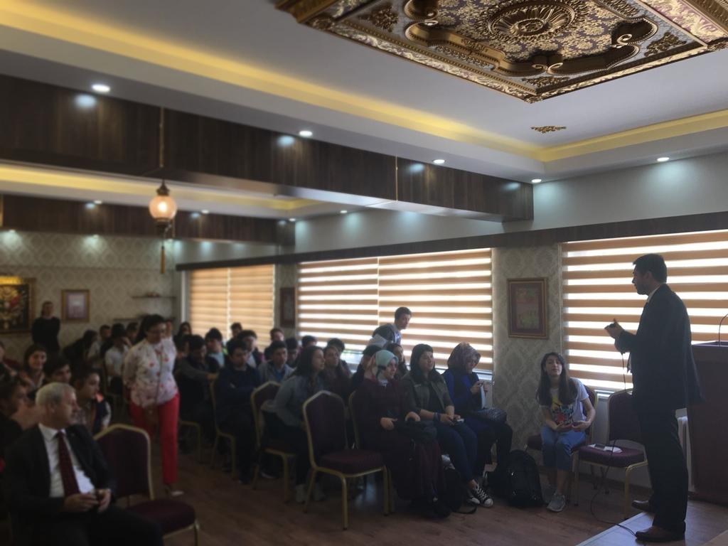 Ankara Keçiören Yamantürk Mesleki ve Teknik Anadolu Lisesi'nde Seminer