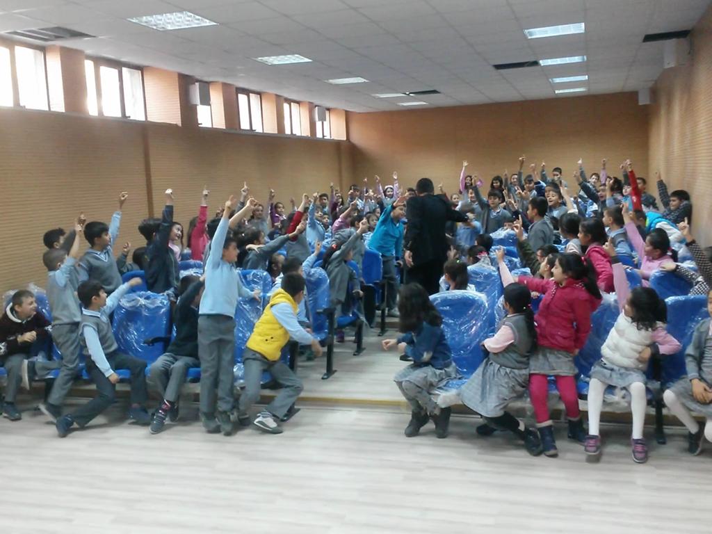 Ankara Ticaret Odası İlkokulu'nda Bilinçli ve Güvenli İnternet Semineri