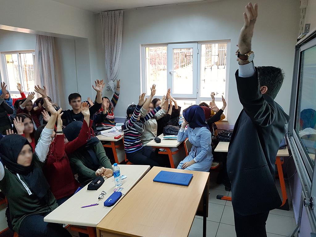 Ankara Mamak Prof. Dr. Ragıp Üner Mesleki ve Teknik Anadolu Lisesi, Bilinçli ve Güvenli İnternet Semineri