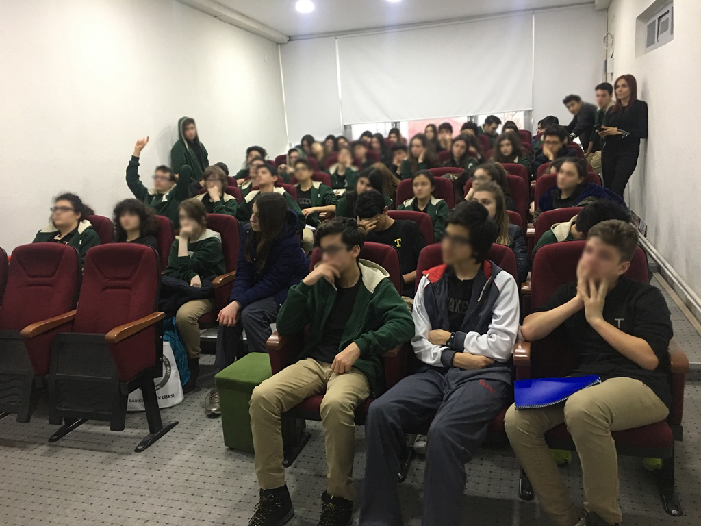 Özel Samsun Takev Anadolu Lisesi'nde Bilinçli ve Güvenli İnternet Semineri